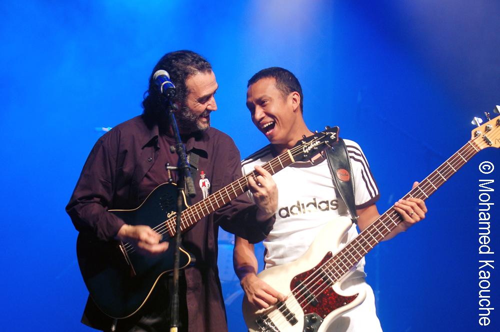 Hocine Boukella et Eric Rakotoarivony