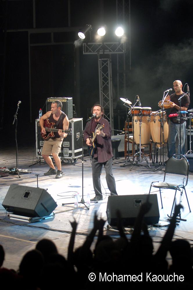 Sidi Bémol en concert à Alger