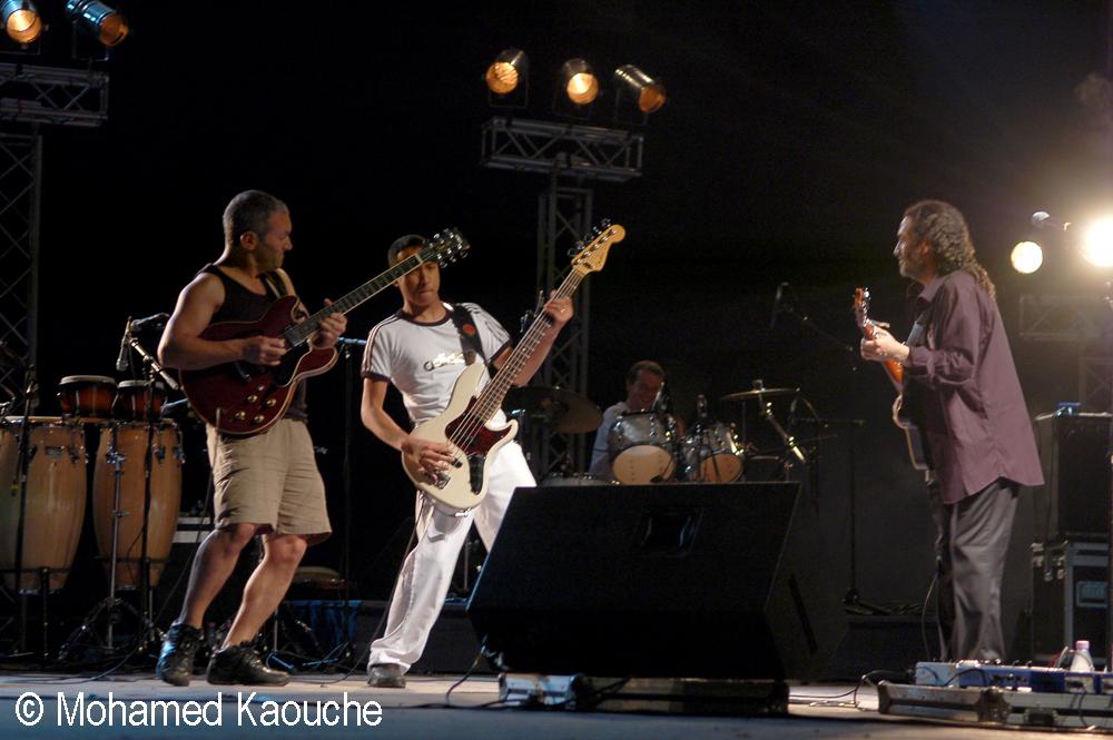 Hocine Boukella, Khliff Miziallaoua et Eric Rakotoarivony