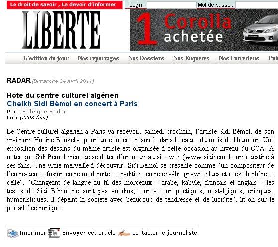 Article Liberte mars 2011