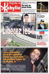 Interview Sidi Bemol sur La Depeche de Kabylie