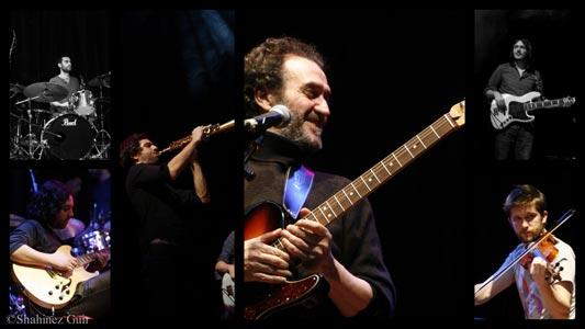 Hocine Boukella (guitare-chant), Damien Fleau (saxophones), Maxime Fleau (batterie), Clément Janinet (violon), Jean Rollet-Gerard (basse), Benoit Medrykowski (guitare)