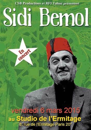 Sidi Bémol en concert à Paris