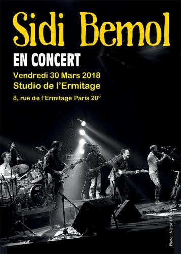 Concert Sidi Bemol le 30/03/18 photo ©Victor Delfim