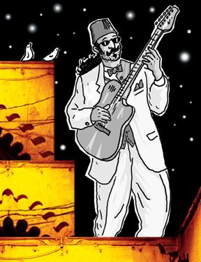Cheikh Sidi Bémol au Festival du Monde Arabe de Montréal
